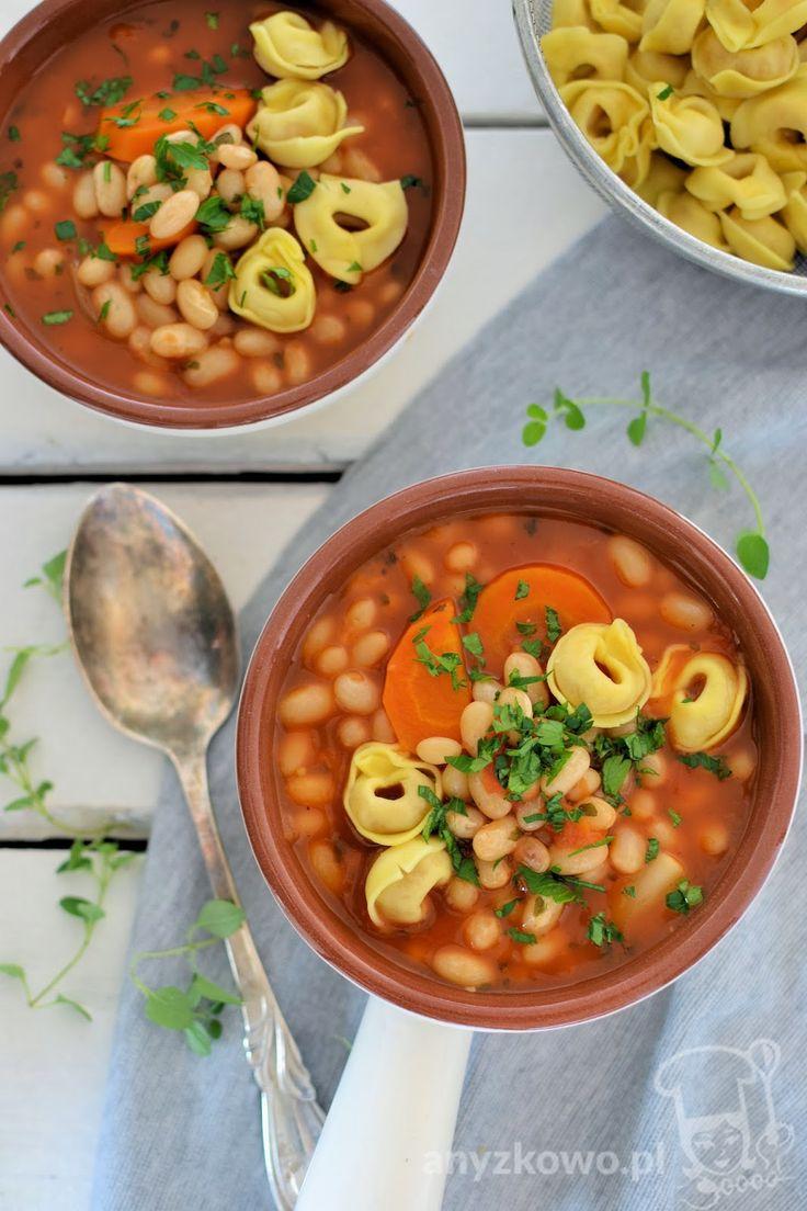 Anyżkowo: Zupa pomidorowa z fasolą