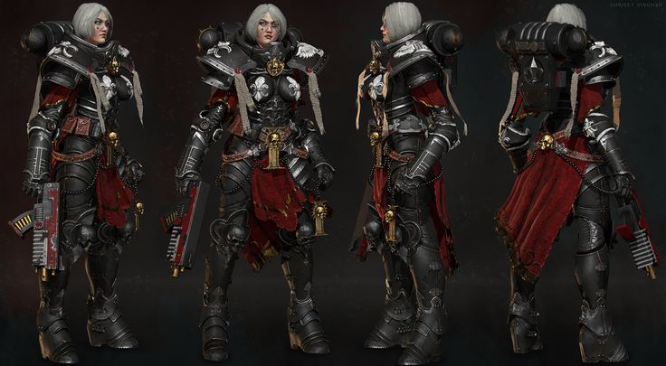 Sister of battle 2 ( warhammer 40k ) fan art by Gurjeet Singh