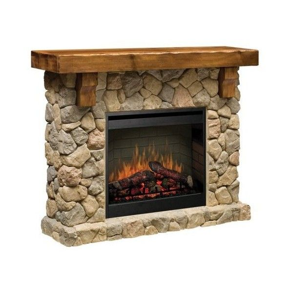 Dimplex Fieldstone Electric Fireplace 1 499 Liked On