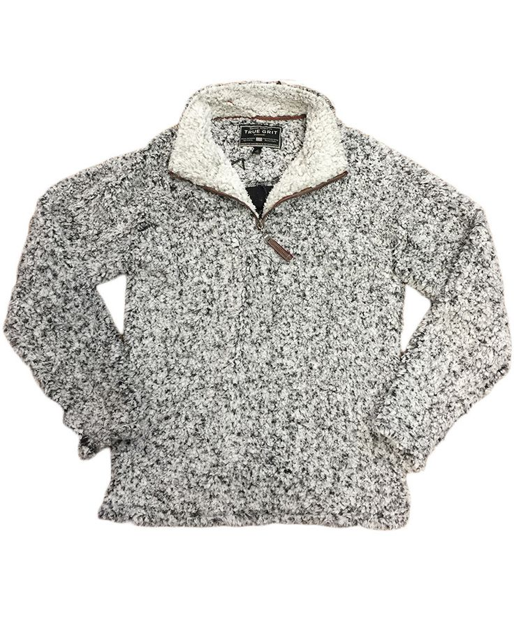 The Frosty Tip pullover from True Grit is amazingly soft, and ultra comfortable! Perfect for keeping warm during the fall and winter!