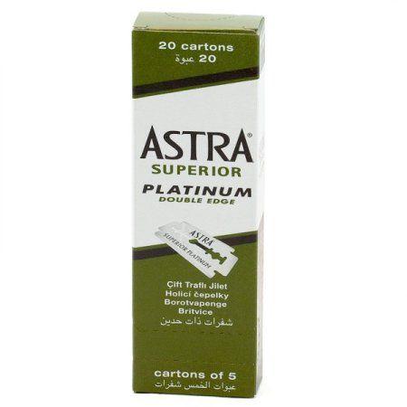 100 Astra Superior Premium Platinum Double Edge Safety Razor Blades Personal Healthcare / Health Care - Walmart.com