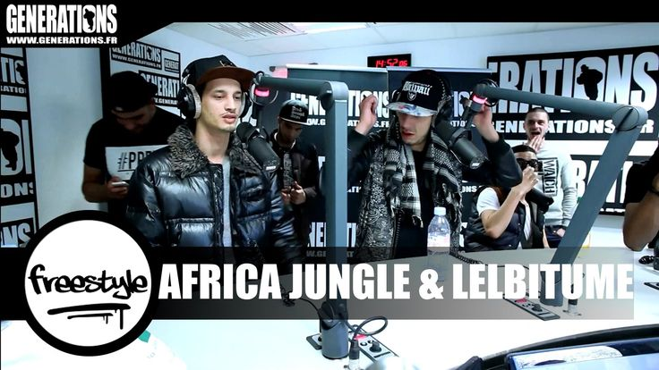 Africa Jungle & LelBitume - Freestyle (Live des Studios de Generations)