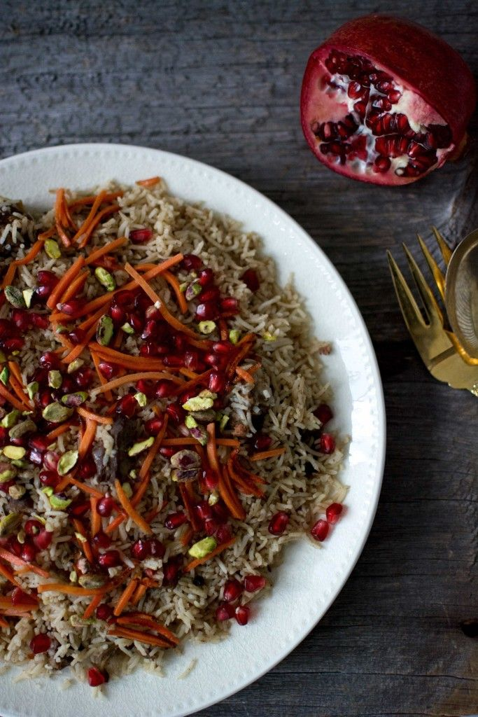 Christmas Kabuli Pulao is an amalgamation of all my Decembers. My favourite Pathan/Afghan flavours, cherished Christmas spices, clementine's Namita, basmati rice and my heart on a plate.