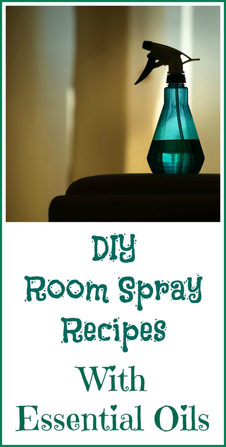How to make your own room spray recipes with essential oils.