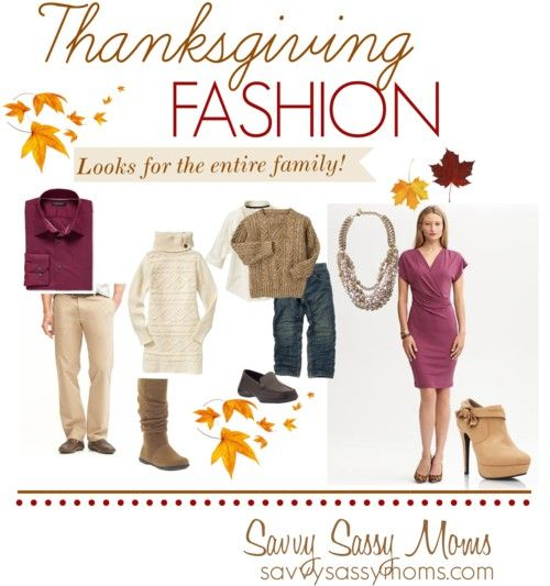 Thanksgiving Fashion {Looks for the entire family!} - Savvy Sassy Moms