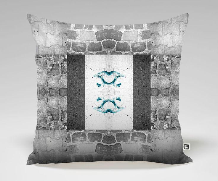 CLO Pillow #8 Pretzel On The Sidewalk