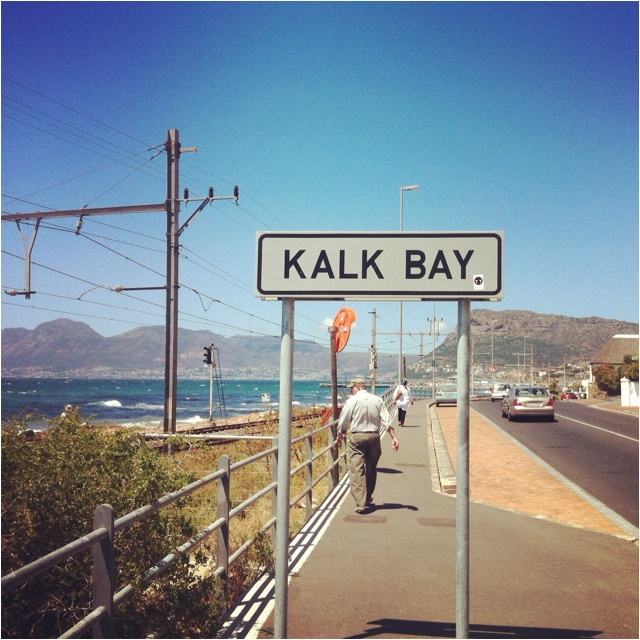One of my favourite things to do: take a train ride to Kalk Bay; indulge in coffee and a treat, browse through the trendy shops and watch the beautiful ocean <3   Oh and don't forget the fish and chips ;)