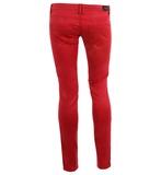 Pantalon skinny en coton stretch  Calvin Klein Jeans  Pantalon en coton stretch et coupe serrée. Il est muni de 2 fausses poches à l'avant et de 2 poches plaquées à l'arrière. Fermeture zippée rehaussée d'un bouton logotypé, passants pour ceinture et surpiqûres ton sur ton. 64,50 €