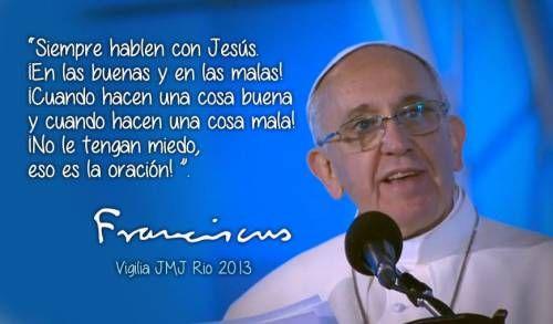 Frases del papa Francisco para jóvenes y familias (4)