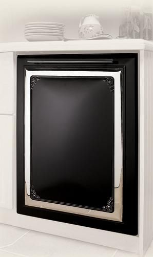 1893 Victorian Dishwasher Panel 400.00  Colors Available Black, White, Bisque, Cayenne Pepper Red or  Liberty Blue / Black/White or Black/Bisque Combination