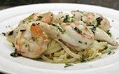 ... Chicken, Shrimp, butter, EVOO, garlic, basil and parsley (can be dried