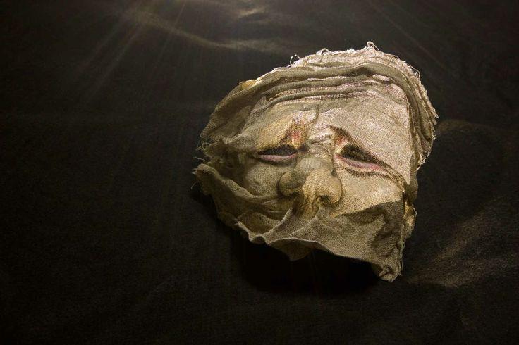 maschera di tela