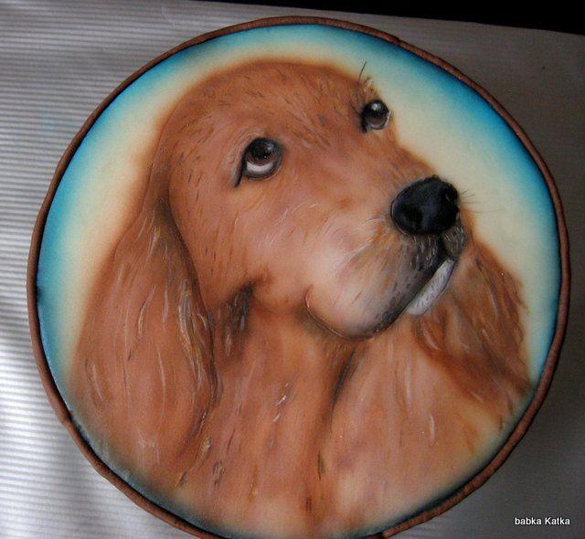 Dog - airbrush