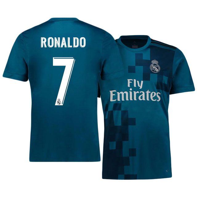 Real Madrid Jersey 17-18 cristiano ronaldo Third Shirt  ceccb3c60
