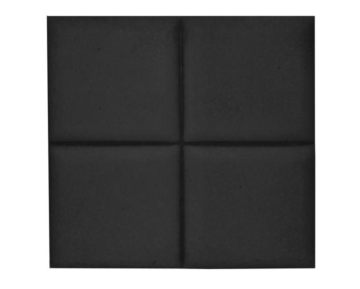 Płytka 3D Pillow - Czarna - zdjęcie od Bettoni - Beton Architektoniczny - Salon - Styl Nowoczesny - Bettoni - Beton Architektoniczny