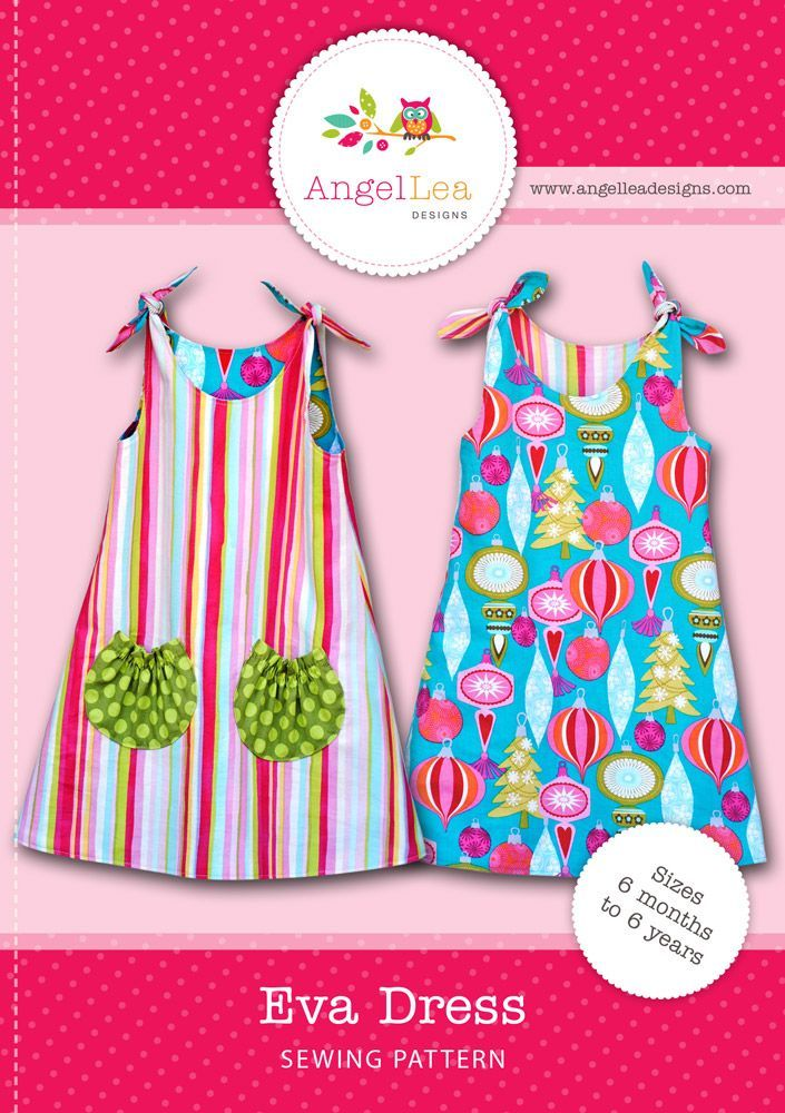 Eva Dress Pattern: sewing for beginners