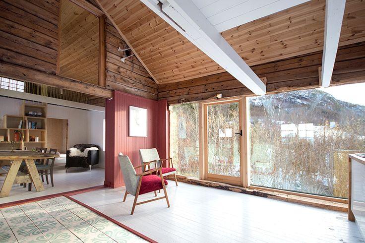 rever & drage transforms boggestranda cabin in norway