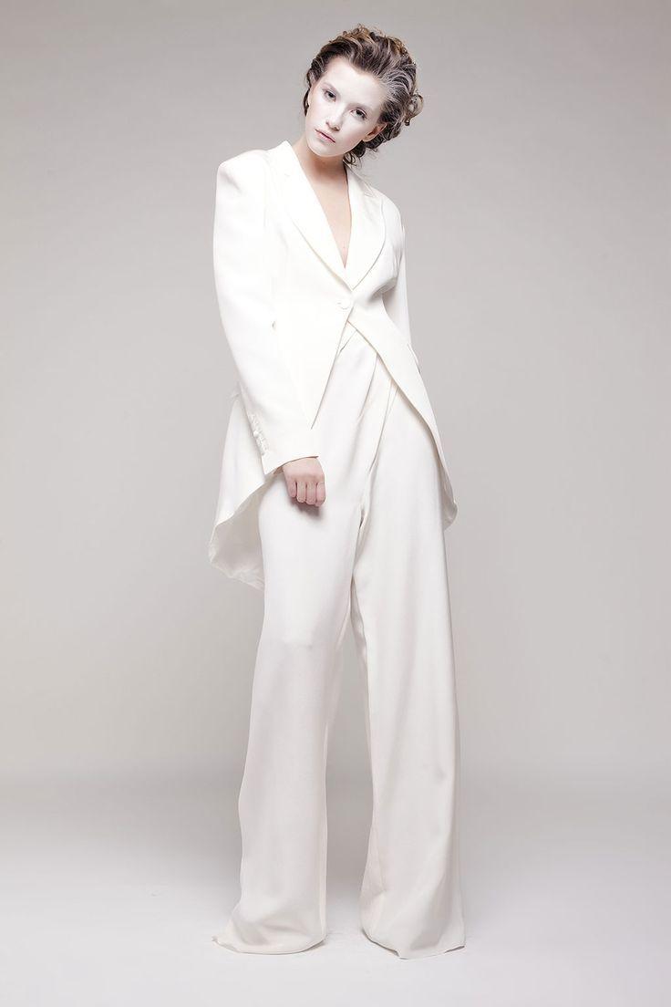 Bride Jumpsuits | agnestoma.ro/ceremonie