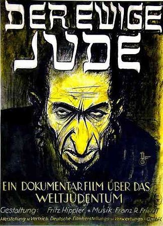 "The 1940 German film Der Erwige Juden (The Eternal Jew) was one of the Nazis more blatant anti-Semitic films. German law prohibits the public distribution and exhibition of the film in Germany. It may be shown for educational purposes but exhibitors must have formal education in ""media science and the history of the Holocaust."""