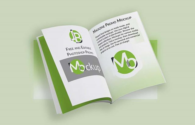 Download Free Mockup - HERE HERE Mockup Download