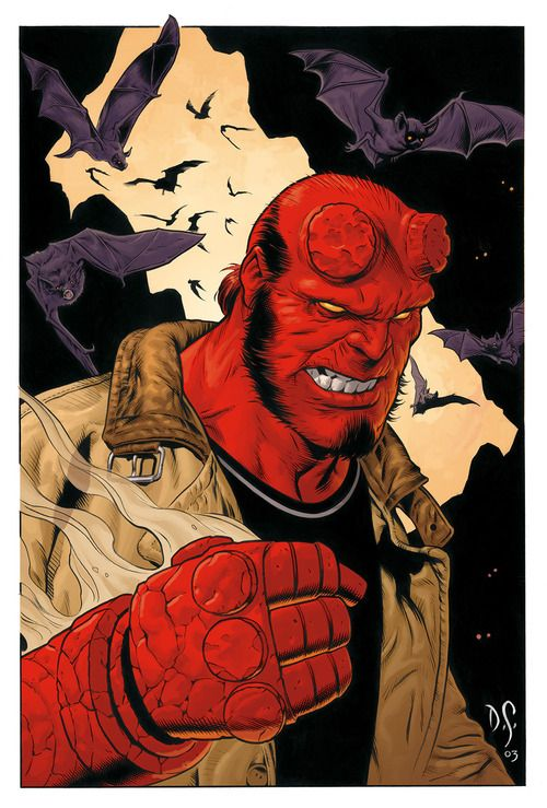 Hellboy by Dave Stevens