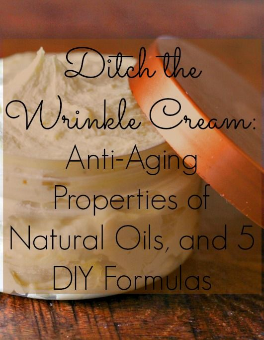 DIY wrinkle creme with natural oils....- the great base I use with soy pastilles instead of bees wax!