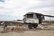 Ultimate XPLOR GT off road camper trailer set up
