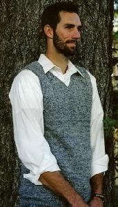 Knitting Pure & Simple 215 Basic Vest For Men