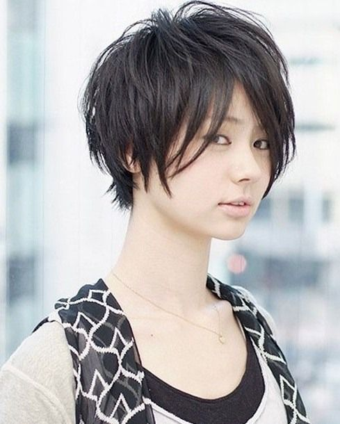 Model Rambut Pendek Wanita Jepang Ide Potongan Rambut Rambut Pendek Wanita Berambut Pendek