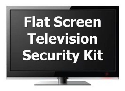 USecure Flat Panel Television Lock Down Security Kit, Plasma, LCD, LED by Usecure.com. $29.90. USecure Flat Panel Television Lock Down Security Kit. Protect your valuable flat screen television with this universal security system. This kit attaches with VESA compatible screws for any size TV. Installs in minutes and creates an affordable lock down for any Flat Screen TV. Excellent for commercial or home use. Compatible with: Sony, Samsung, LG, Panasonic, Sharp, Toshiba, Viz...