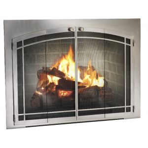 7 best new fireplace doors images on pinterest fire places legend arch conversion fireplace glass door with window pane custom size at fireplacedoorsonline planetlyrics Gallery