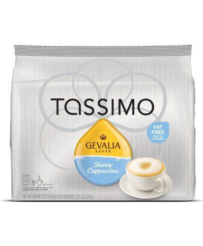 Gevalia 2758 Skinny Cappuccino T-Disc for Tassimo Coffee Maker - http://thecoffeepod.biz/gevalia-2758-skinny-cappuccino-t-disc-for-tassimo-coffee-maker/