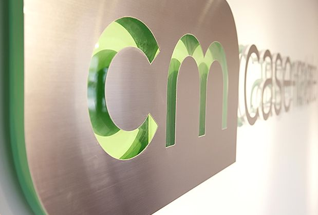 case-mate , Art signs metal signs add a sparkling look to any office sapces