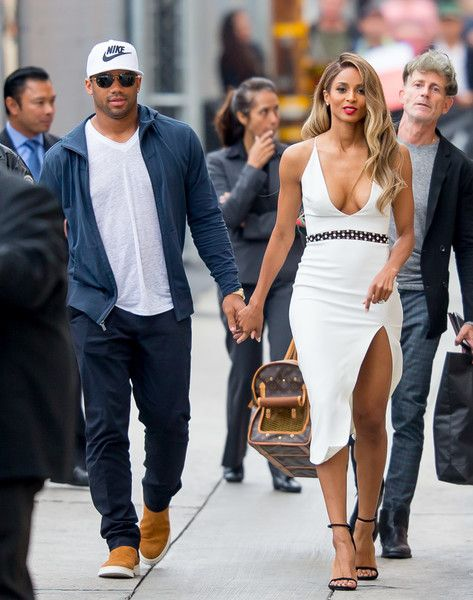 Ciara Photos Photos - Ciara and Russell Wilson are seen arriving at 'Jimmy Kimmel Live' on May 19, 2016. - Ciara and Russell Wilson Arrive at 'Jimmy Kimmel Live'