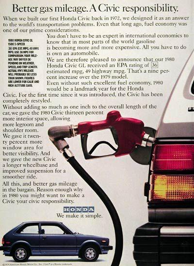 gas mileage for honda pilot