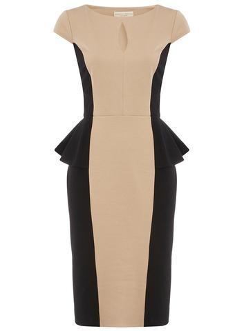 beautiful color block dress.. sooo classy $29
