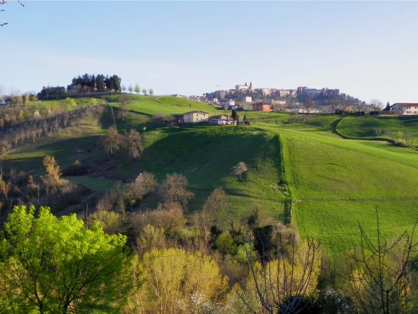 Early spring, afternoon #Camerino #Le Marche #Italian landscape