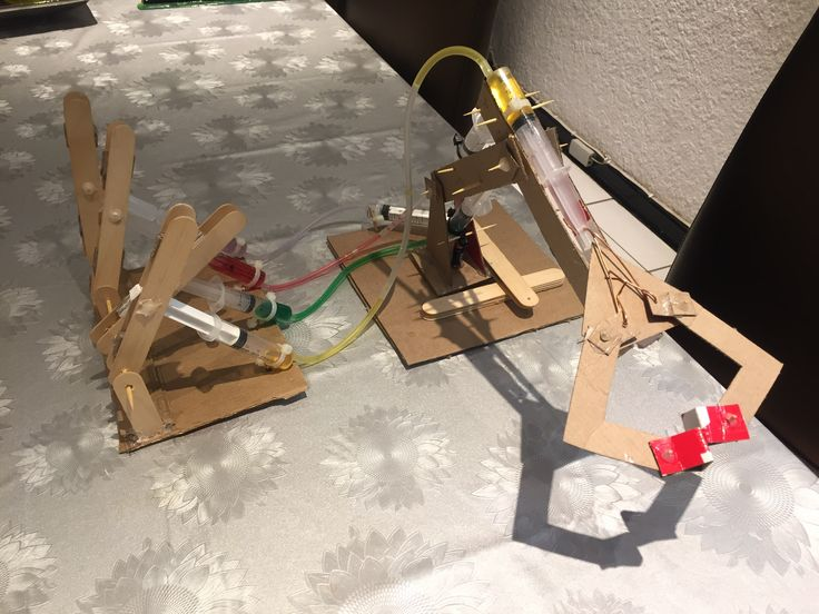 Hydraulic Arm Experiments : Best school projects images on pinterest