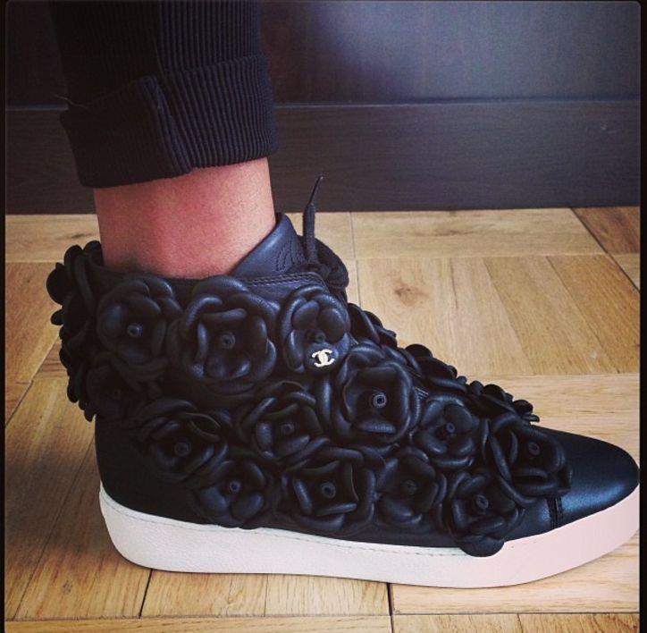 Jourdan Dunn's #chictothenextlev Chanel kicks!