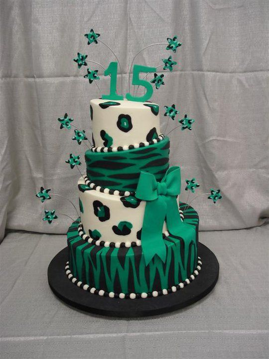 25 Best Ideas About 15th Birthday Cakes On Pinterest