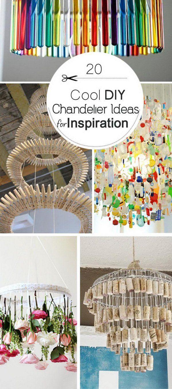 Cool DIY Chandelier Ideas!