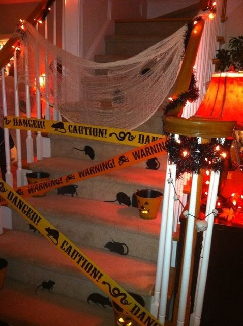 2015 Most creative and funny Halloween stair decorationideas that you will like ! - Fashion Blog