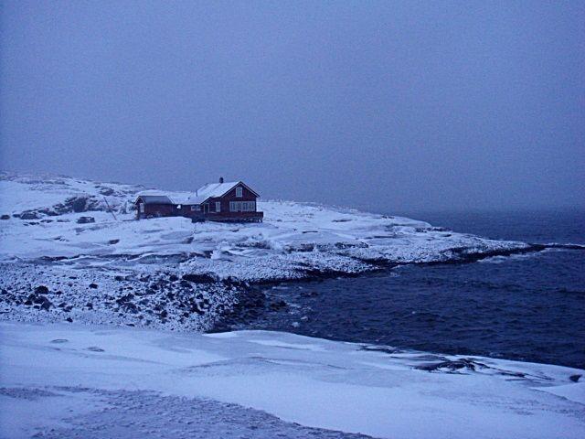 I like this hous! Bugøynes, Sor-Varanger, Finnmark, Norway
