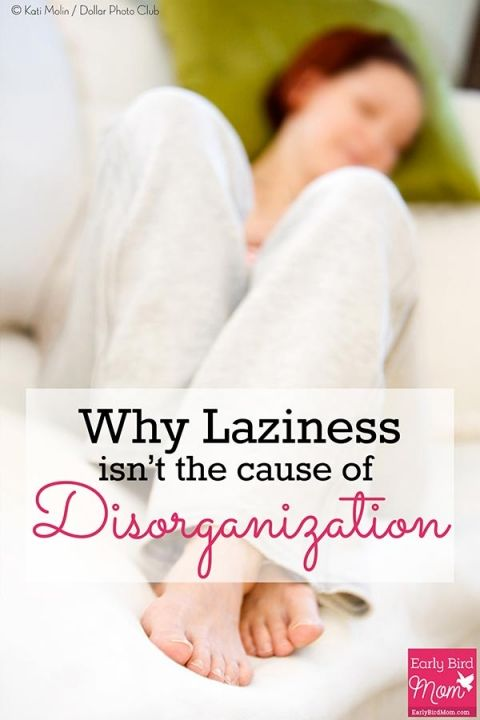 Why Laziness Isn T The Cause Of Disorganization The O