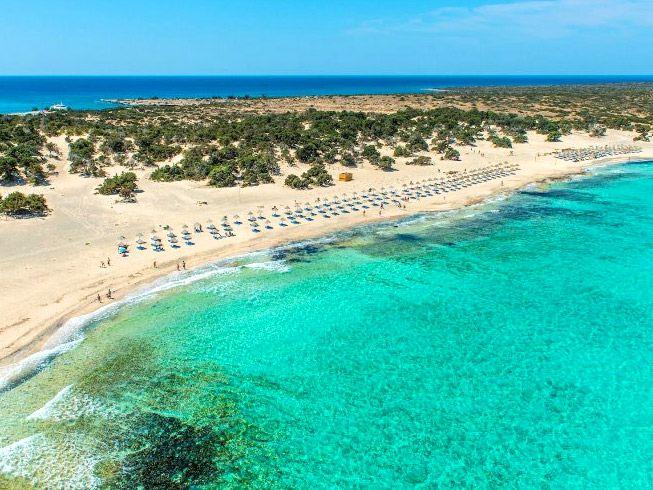 Fantastic island of Chrissi, south of Crete