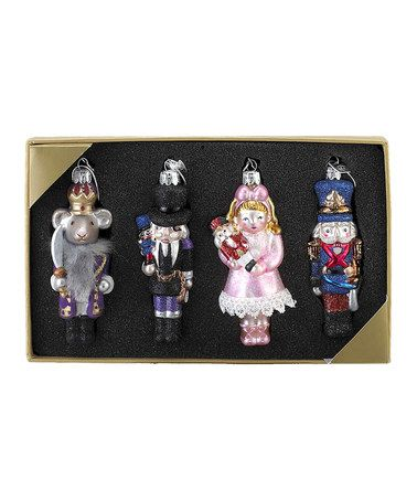 Take a look at this Nutcracker Character Ornament Set by Kurt Adler on #zulily today!