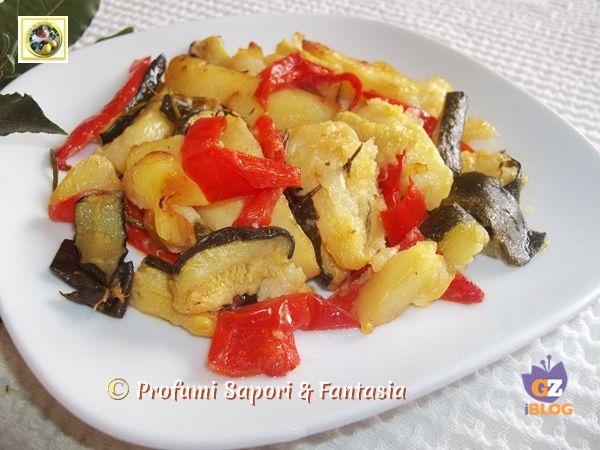 Contorno di verdure miste al forno ricetta  Blog Profumi Sapori & Fantasia