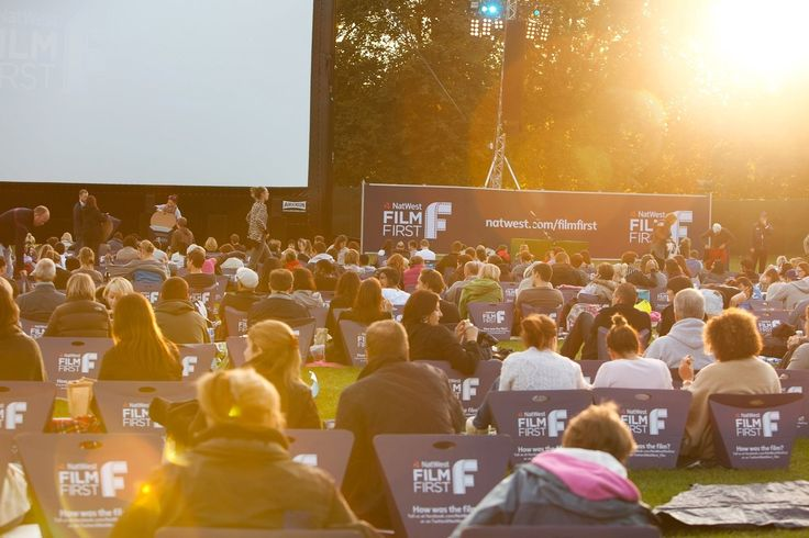 Natwest Film First. Bumbox UK - event seating. #sponsorship #outdoorcinema