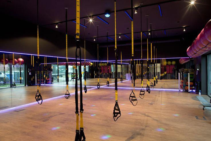 Sala fitness w Level Up Wrocław