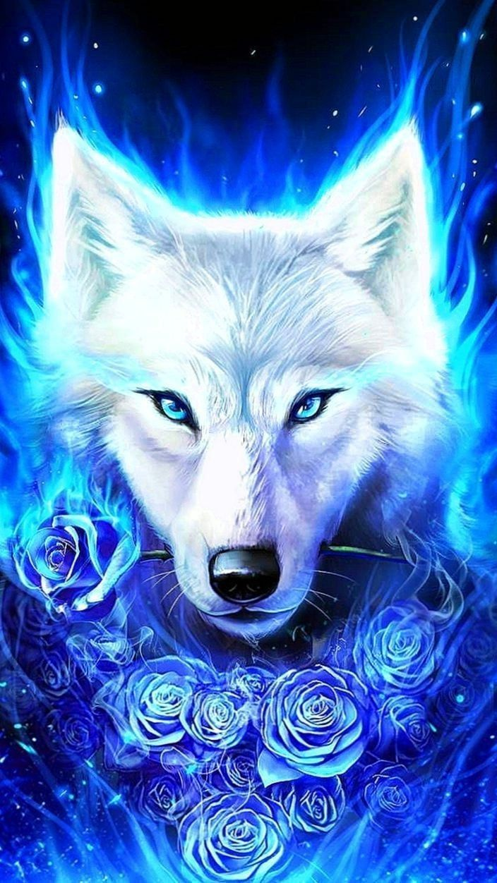 Blue Ice Wolf Wallpapers Blue Ice Wolf Wallpapers Wolf Spirit Animal Ice Wolf Wallpaper Wolf Wallpaper